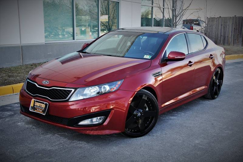 2012 Kia Optima For Sale At United Auto Outlet In Chantilly VA