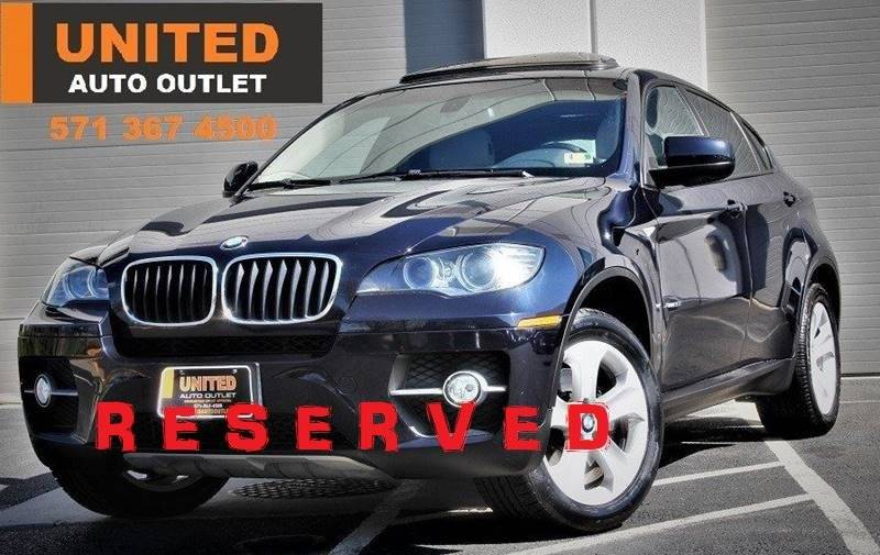 2010 Bmw X6 Xdrive35i In Chantilly Va United Auto Outlet