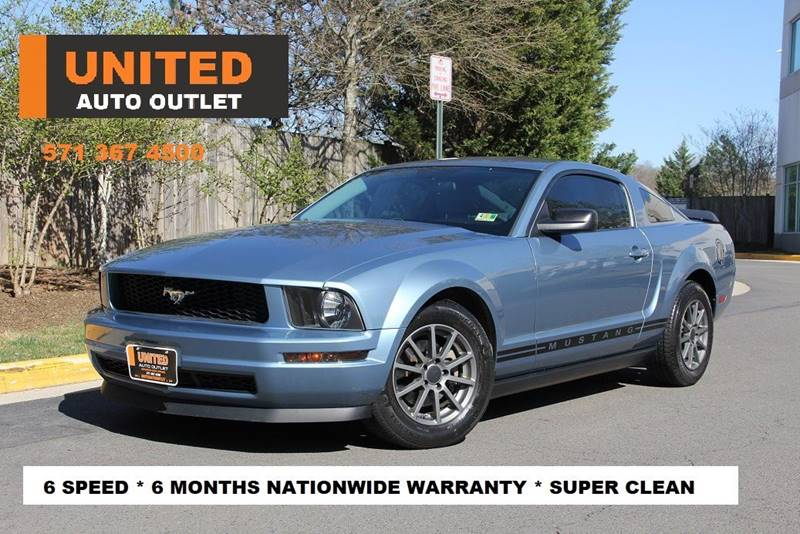 2008 ford mustang v6 deluxe in chantilly va - united auto outlet