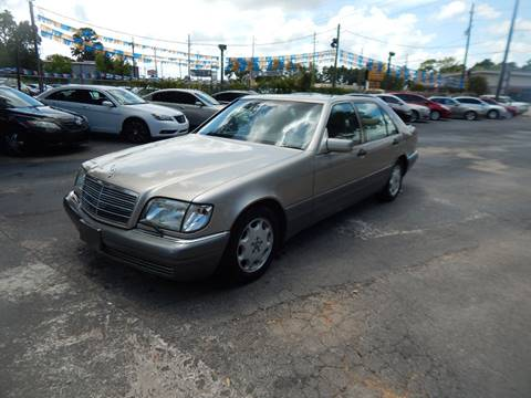 1996 Mercedes-Benz S-Class for sale in Houston, TX