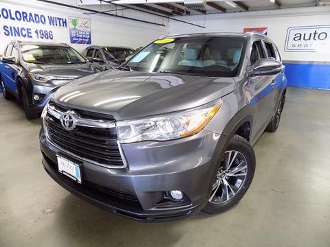 2016 Toyota Highlander for sale in Denver, CO