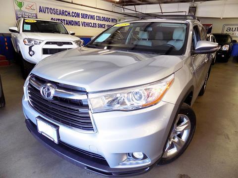 2015 Toyota Highlander for sale in Denver, CO