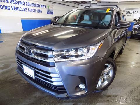 2017 Toyota Highlander for sale in Denver, CO