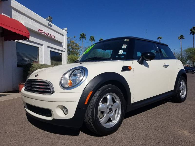 2010 Mini Cooper 2dr Hatchback In Mesa Az Brown Brothers Automotive