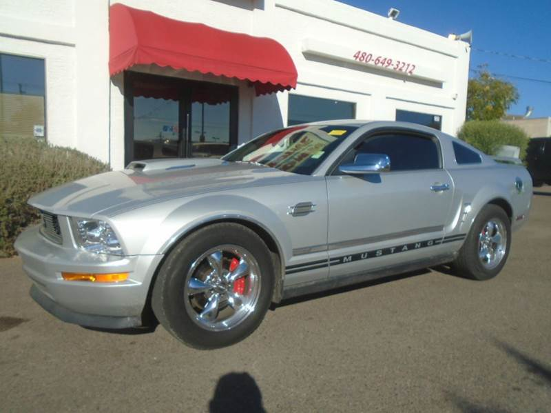 2005 ford mustang v6 deluxe 2dr coupe in mesa az brown brothers automotive. Black Bedroom Furniture Sets. Home Design Ideas