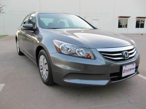 2012 Honda Accord for sale at Auto Genius in Dallas TX