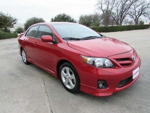 2012 Toyota Corolla for sale at Auto Genius in Dallas TX
