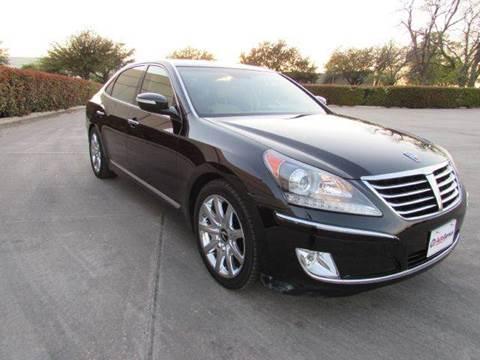 2011 Hyundai Equus for sale at Auto Genius in Dallas TX