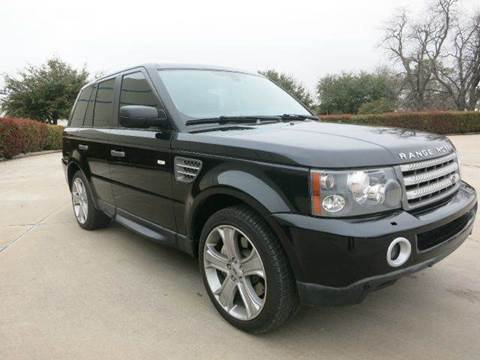 2009 Land Rover Range Rover Sport for sale at Auto Genius in Dallas TX