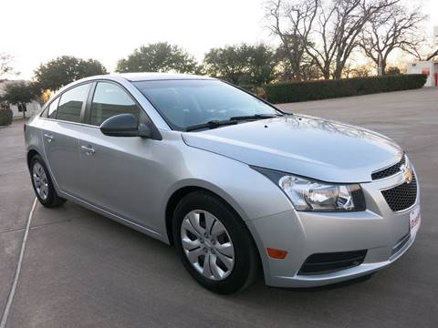 2012 Chevrolet Cruze for sale at Auto Genius in Dallas TX