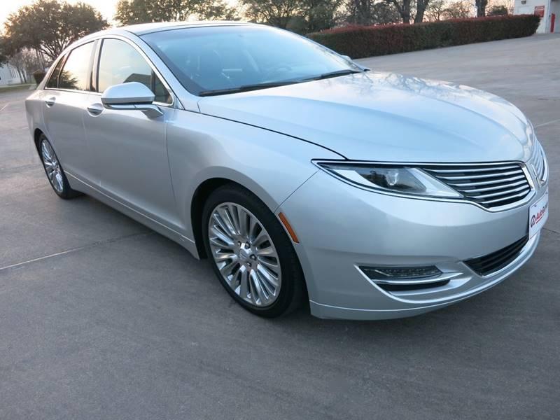 2013 Lincoln MKZ for sale at Auto Genius in Dallas TX