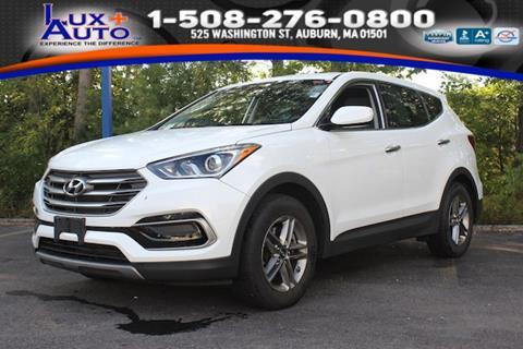 2017 Hyundai Santa Fe Sport for sale in Auburn, MA
