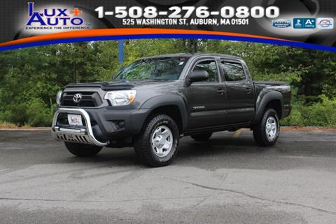 Toyota Auburn Ma >> Used Toyota Tacoma For Sale In Auburn Ma Carsforsale Com