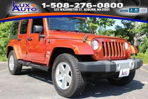2009 Jeep Wrangler Unlimited for sale in Auburn, MA