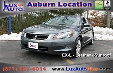 2008 Honda Accord for sale in Auburn, MA