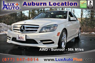 2011 Mercedes-Benz C-Class for sale in Auburn, MA