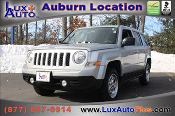2012 Jeep Patriot for sale in Auburn, MA
