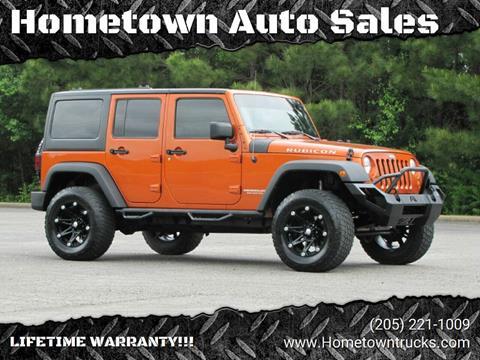 2011 Jeep Wrangler Unlimited for sale in Jasper, AL