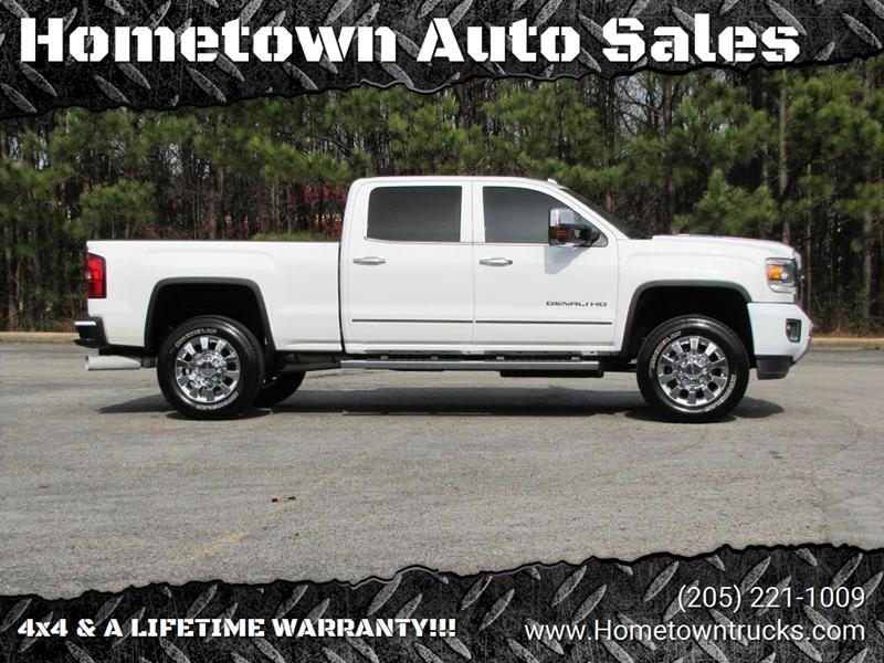 2015 GMC Sierra 2500HD for sale at Hometown Auto Sales - Trucks in Jasper AL