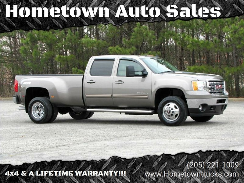 2013 GMC Sierra 3500HD for sale at Hometown Auto Sales - Trucks in Jasper AL