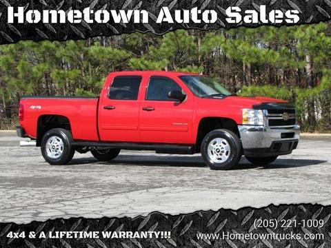 2013 Chevrolet Silverado 2500HD for sale at Hometown Auto Sales - Trucks in Jasper AL