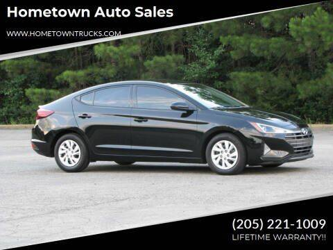 2020 Hyundai Elantra for sale at Hometown Auto Sales - Cars in Jasper AL