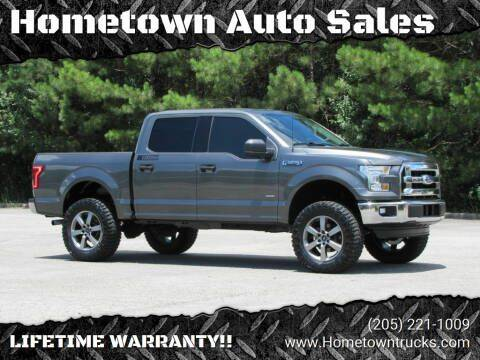 2016 Ford F-150 for sale at Hometown Auto Sales - Trucks in Jasper AL