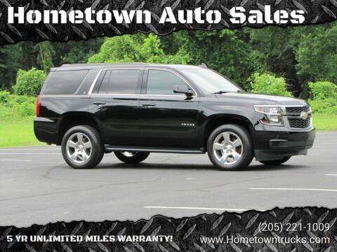 2016 Chevrolet Tahoe for sale at Hometown Auto Sales - SUVS in Jasper AL