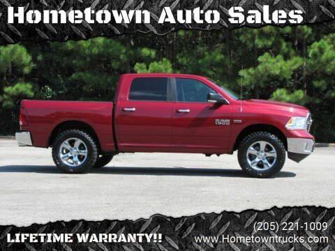 2013 RAM Ram Pickup 1500 for sale at Hometown Auto Sales - Trucks in Jasper AL