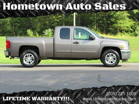 2013 Chevrolet Silverado 1500 for sale at Hometown Auto Sales - Trucks in Jasper AL