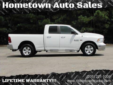 2017 RAM Ram Pickup 1500 for sale at Hometown Auto Sales - Trucks in Jasper AL