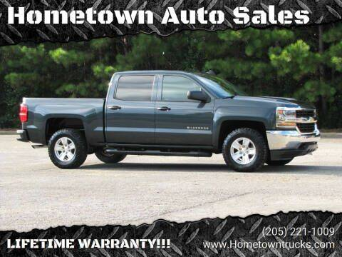 2018 Chevrolet Silverado 1500 for sale at Hometown Auto Sales - Trucks in Jasper AL