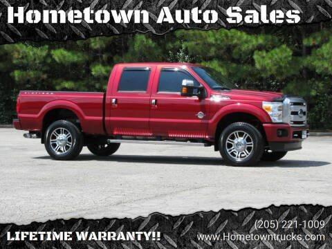 2015 Ford F-350 Super Duty for sale at Hometown Auto Sales - Trucks in Jasper AL