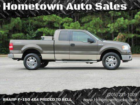 2008 Ford F-150 for sale at Hometown Auto Sales - Trucks in Jasper AL