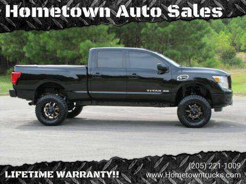 2017 Nissan Titan XD for sale at Hometown Auto Sales - Trucks in Jasper AL