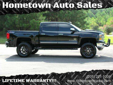 2015 Chevrolet Silverado 1500 for sale at Hometown Auto Sales - Trucks in Jasper AL