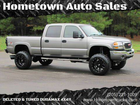 2006 GMC Sierra 2500HD for sale at Hometown Auto Sales - Trucks in Jasper AL