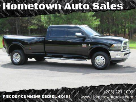 2012 RAM Ram Pickup 3500 for sale at Hometown Auto Sales - Trucks in Jasper AL
