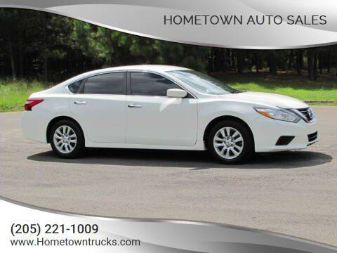 2016 Nissan Altima for sale at Hometown Auto Sales - Cars in Jasper AL