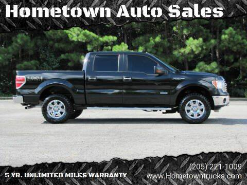 2012 Ford F-150 for sale at Hometown Auto Sales - Trucks in Jasper AL