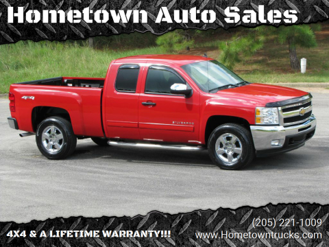2012 Chevrolet Silverado 1500 for sale at Hometown Auto Sales - Trucks in Jasper AL
