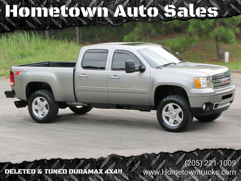 2013 GMC Sierra 2500HD for sale at Hometown Auto Sales - Trucks in Jasper AL