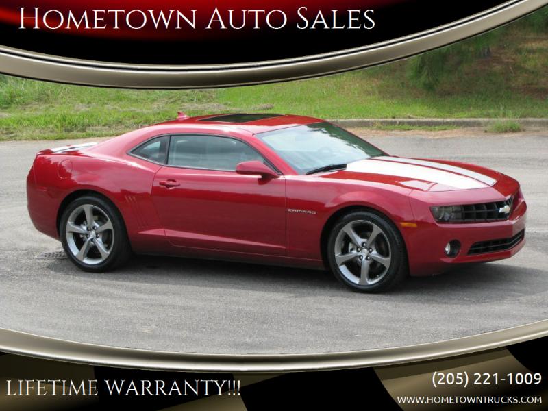 2013 Chevrolet Camaro for sale at Hometown Auto Sales - Cars in Jasper AL