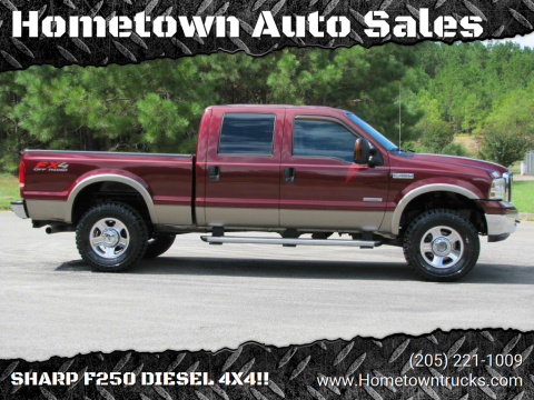 2005 Ford F-350 Super Duty for sale at Hometown Auto Sales - Trucks in Jasper AL