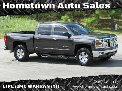 2014 Chevrolet Silverado 1500 for sale at Hometown Auto Sales - Trucks in Jasper AL