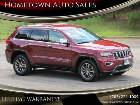 2017 Jeep Grand Cherokee for sale at Hometown Auto Sales - SUVS in Jasper AL