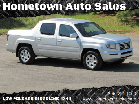 2008 Honda Ridgeline for sale at Hometown Auto Sales - Trucks in Jasper AL