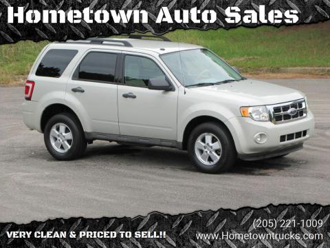 2009 Ford Escape for sale at Hometown Auto Sales - SUVS in Jasper AL