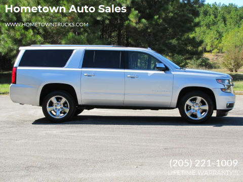 2017 Chevrolet Suburban for sale at Hometown Auto Sales - SUVS in Jasper AL