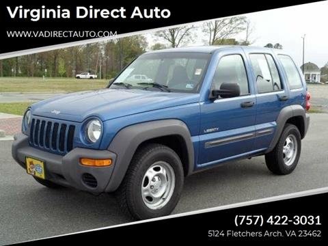 2004 Jeep Liberty for sale in Virginia Beach, VA